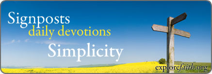 Daily Devotions: Simplicity